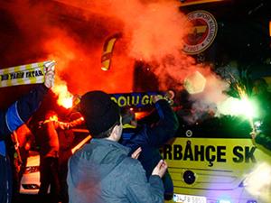 Fenerbahçe'ye çoşkulu karşılama!