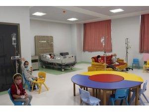 SAÜEAH Çocuk Hematolojisi ve Onkolojisi Servisi bölge bazlı hizmet veren bir merkez haline geldi