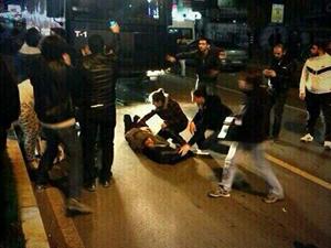 Mersin'de Berkin Elvan eyleminde toma 1 kişiyi ezdi