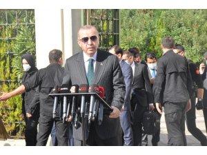 """Cumhurbaşkanı Recep Tayyip Erdoğan; """"S-400 testi yapıldı doğrudur, halen yapılıyor. Amerika'nın bu yaklaşımı kesinlikle bizi bağlamaz"""""""