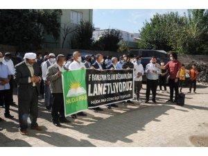Hüda-Par Cizre teşkilatından Fransa'ya tepki