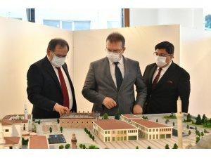 Adalet Bakan Yardımcısı Büyükşehir'in projelerini inceledi
