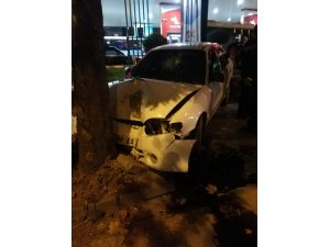 Başkent'te trafik kazası: 1 yaralı