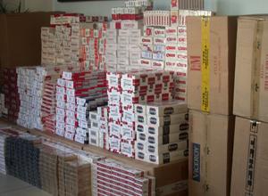 Kırıkkale'de 330 bin kaçak sigara ele geçirildi