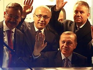 Erdoğan Ankara'daki metro hattı açılışında konuştu