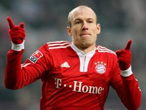Robben'den Wenger'e sert cevap