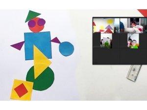 Türk Telekom'dan az gören çocuklara sanat atölyesi
