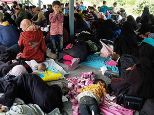 Türk oldukları öne sürülen 220 mülteci yakalandı