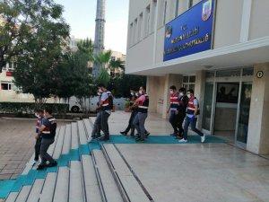 Kırsaldan gelen 4 terör örgütü üyesi Mersin'de yakalandı