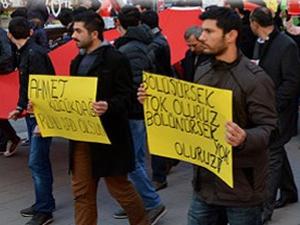 Şehit polis Küçüktağ için anma yürüyüşü