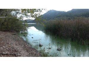 Kovada Gölü kirlilikle boğuşuyor