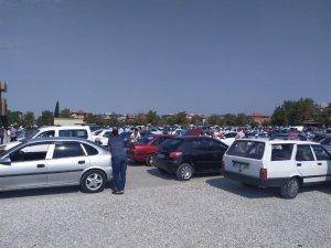 Denizli'de toplam araç sayısı 423 bin 334 oldu