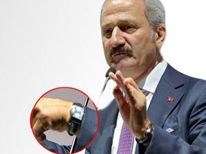 Zafer Çağlayan'ın 700 Bin TL'lik Saati Fezlekede