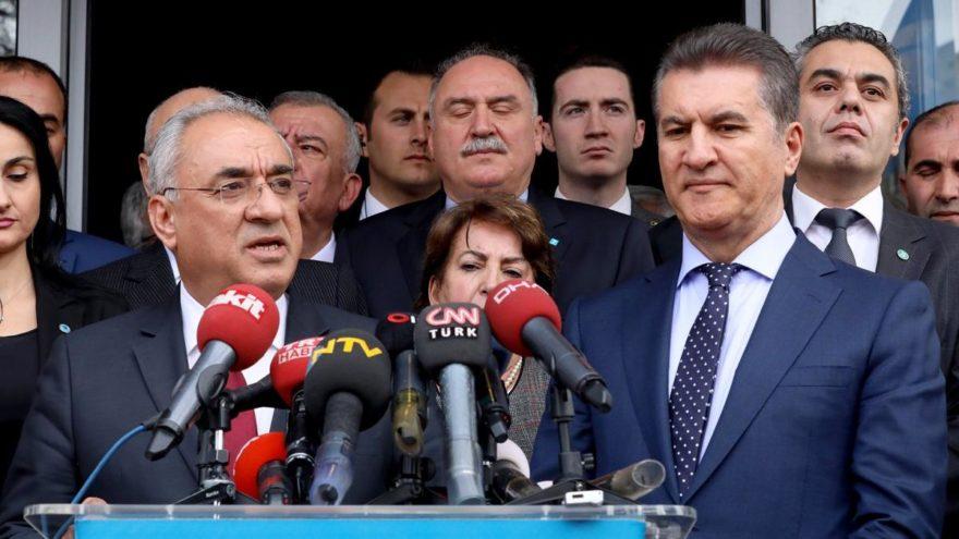 Mustafa Sarıgül DSP'den ayrıldı