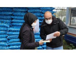 Zabıta ekiplerinden kömür denetimi
