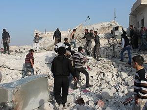 Suriye'de ölümler varil bombasıyla arttı