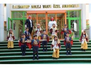 Minik GKV'lilerin Cumhuriyet coşkusu