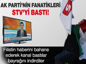 AK Parti'nin fanatikleri, Samanyolu'nu bastı