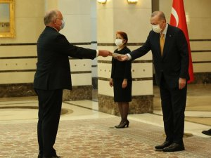 Cumhurbaşkanı Erdoğan, Belçika Büyükelçisini kabul etti