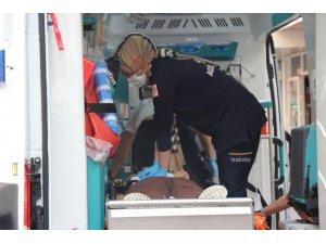 Sağlık çalışanlarının dakikalarca kalp masajı yaptığı şahıs kurtarılamadı