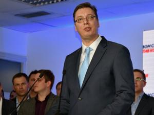 Sırbistan'da ilk resmi sonuçlar açıklanmaya başlandı