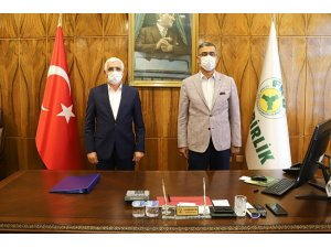 Fiskobirlik ile Marmarabirlik güç birliği konusunda görüşme gerçekleştirdiler