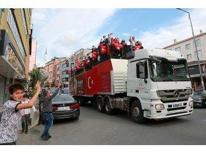 Ataşehir'de Cumhuriyet coşkusu