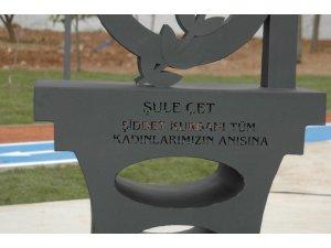 Şule Çet Parkı hizmete açıldı