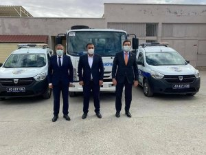 Çiçekdağı Belediyesi araç filosunu güçlendiriyor