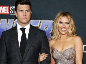 Scarlett Johansson ile Colin Jost evlendi