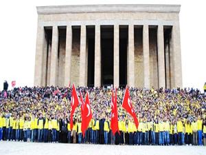 1 milyon Fenerli Anıtkabir'e gidecek