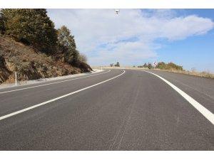 Yenilen Söğüt-Eskişehir karayolu trafiğe açıldı