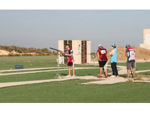 Cumhuriyet Kupası Skeet yarışmaları resmi antrenman atışlarıyla başladı