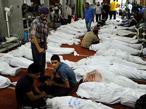 Rabiatul Adeviye'de ölenlerin yüzde 88'i silahla vuruldu