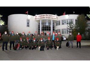 Erzurum Büyükşehir'in kurtarma ekibi askeri uçakla İzmir'e hareket etti
