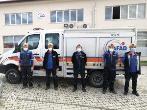 Kütahya'dan İzmir'e yardım ekibi