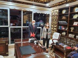 MHP İstanbul Milletvekili Erdem, Mardin İl Başkanlığını ziyaret etti