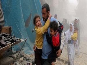 Esed'den 'vakum' katliamı: 25 ölü!