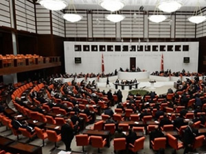 Meclis'te habersiz tatbikat panik yarattı