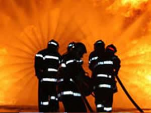 Erciş Adliyesi'nde korkutan yangın