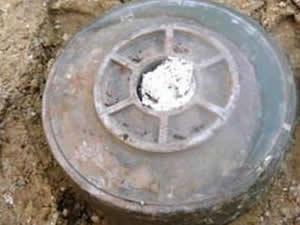 Siirt'te PKK mayını bulundu