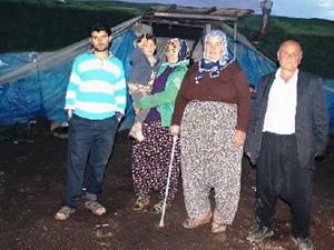 20 yıldır çadırda yaşıyorlar