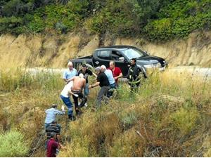 Baykal'ın konvoyunda kaza: 5 yaralı