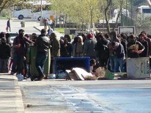 İTÜ'de karşıt görüşlü öğrenciler birbirine girdi