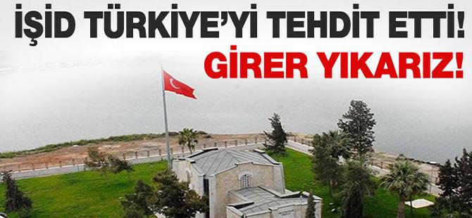 İŞİD Türkiye'yi tehdit etti