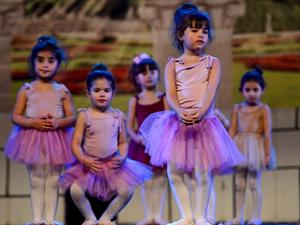 Filistin'de ilk bale gösterisi