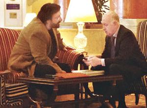İşte Fatih Saraç ve Ali Kibar'ın lüks oteldeki görüşmesi