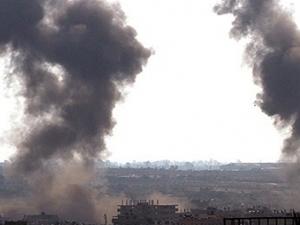 Suriye sınırında bombardıman başladı