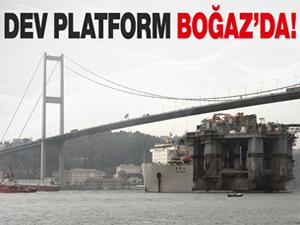 Dev platform Boğaz'da