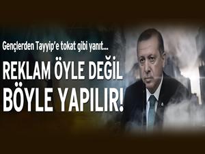 Gençlerden AKP'ye tokat gibi videolu yanıt